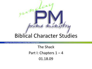 Biblical Character Studies