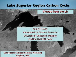 Lake Superior Region Carbon Cycle