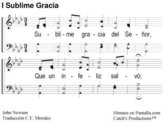 Sublime Gracia 1