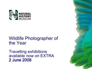 Wildlife Photographer of the Year Travelling exhibitions available now on EXTRA 2 June 2008