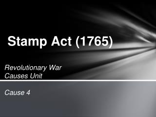 Stamp Act (1765)