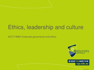 The Dimensions of Ethics and Values in Leadership and Organization
