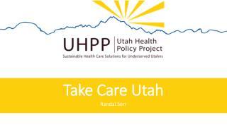 Take Care Utah