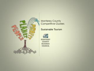 Monterey County Competitive Clusters Sustainable Tourism