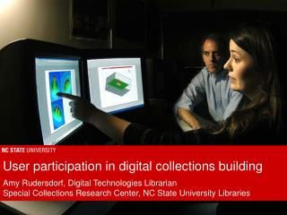 User participation in digital collections building