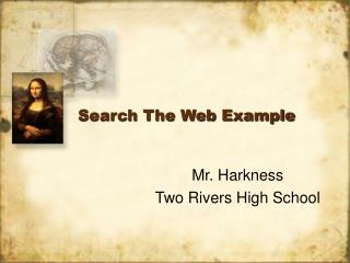 Search The Web Example