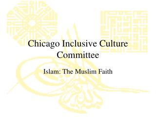 Chicago Inclusive Culture Committee