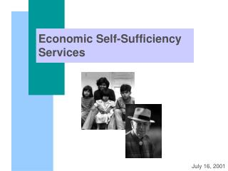 Economic Self-Sufficiency Services