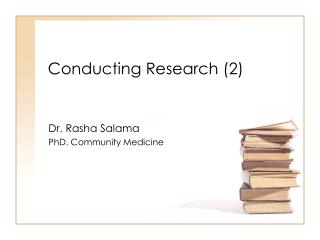 Conducting Research (2)