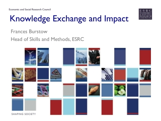 Knowledge Exchange and Impact