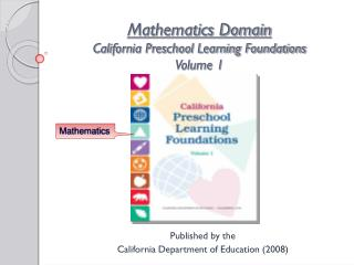Mathematics Domain California Preschool Learning Foundations Volume 1