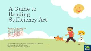 A Guide  to Reading Sufficiency Act