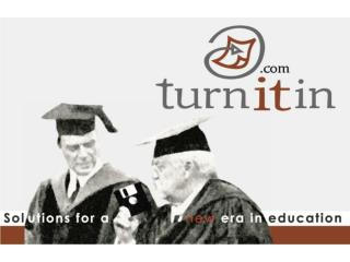 Welcome to Turnitin's Peer Review!