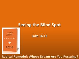 Seeing the Blind Spot