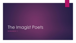 Imagism