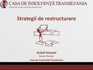 Strategii de restructurare