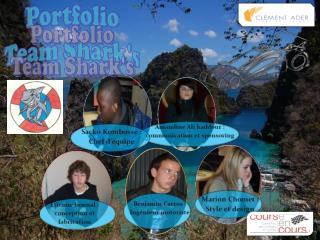 Portfolio Team Shark's
