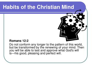 Habits of the Christian Mind