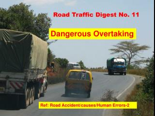 Road Traffic Digest No. 11