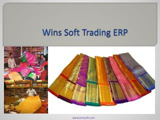 Wins Soft Trading ERP
