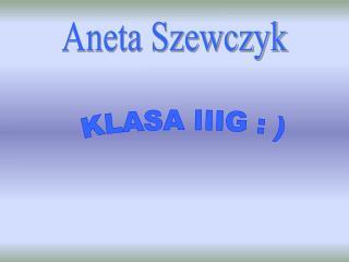 Aneta Szewczyk