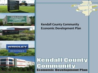 Kendall County Community Economic Development Plan