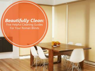 Beautifully Clean: Five Helpful Cleaning Guides For Your Rom