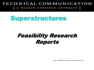 Feasibility Research Reports