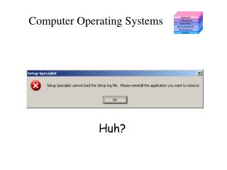 Computer Operating Systems
