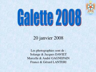 Galette 2008