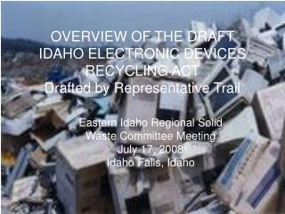 CRT/Electronic Waste Committee