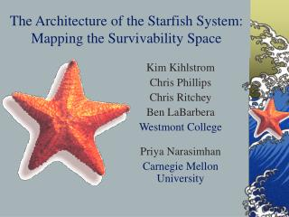 The Architecture of the Starfish System: Mapping the Survivability Space