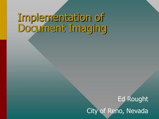 Implementation of Document Imaging