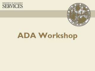 DOJ 2010 ADA Regulations Implementing  Title II and Title III