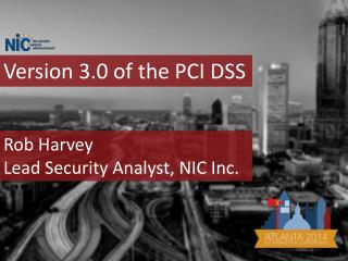 Version 3.0 of the PCI DSS