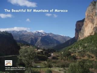 The Beautiful Rif Mountains of Morocco