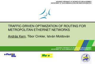TRAFFIC-DRIVEN OPTIMIZATION OF ROUTING FOR METROPOLITAN ETHERNET NETWORKS