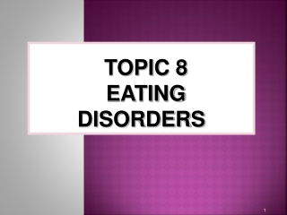 The biological causes of anorexia