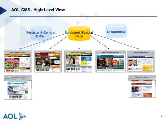 AOL CMS , High Level View