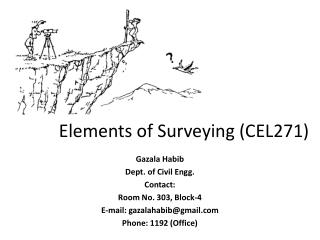 Elements of Surveying (CEL271)
