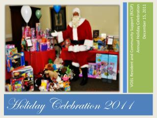 Holiday Celebration 2011