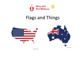 Flags and Things