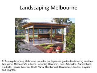 Japanese Gardens Melbourne