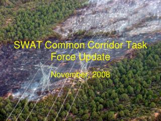 SWAT Common Corridor Task Force Update