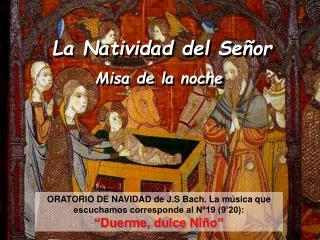 La Natividad del Señor