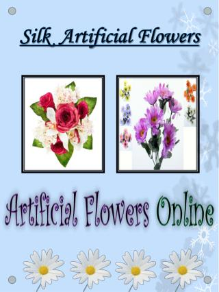 Silk Flower Wholesalers