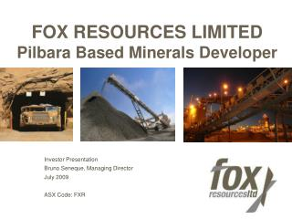 FOX RESOURCES LIMITED