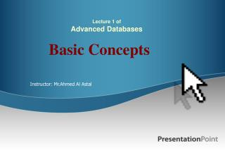 Lecture 1 of Advanced Databases