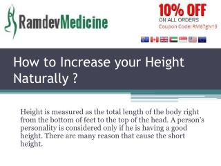 How to Increase your Height Naturally