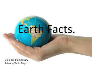 Earth Facts.